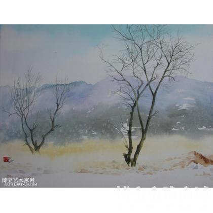 名家 冯保民 水彩; - 冯保民 水彩风景0210 类别: 水粉画|水彩画
