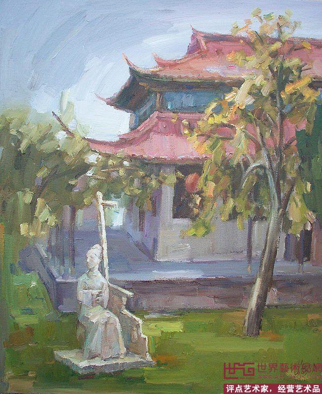 油画名家 游海明 - 游海明油画风景 当前   位粉丝喜爱本幅作品 印象